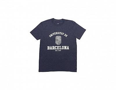 Camiseta Azul Grisáceo