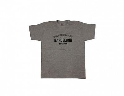 Camiseta Barcelona Gris Claro