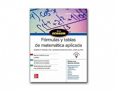 Formulas y tablas de matemática aplicada