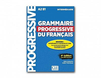 Grammaire Progressive Du Français. Niveau Intermédiaire - 4a Édition (+ CD)