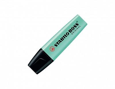 Marcador fluorescente stabilo boss original pastel Verde