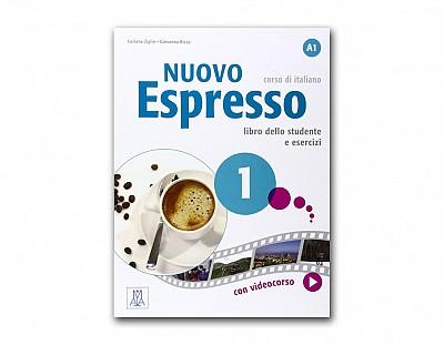 Nuovo espresso. Libro studente e libro esercizi: Nuovo Espresso 1 Libro dello  studente A1