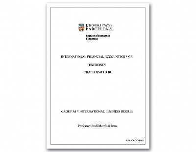 Internacional Financial Accounting