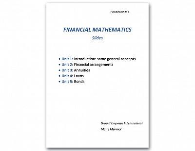 Financial Mathematics. Slides