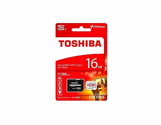 Tarjeta micro SDHC de 64Gb Toshiba con adaptador