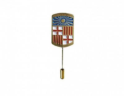 Pin aguja escudo