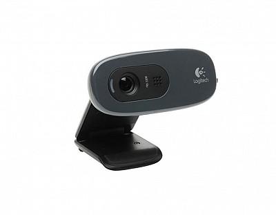 Logitech C270 Webcam HD, 720p/30fps